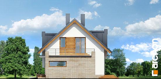 Elewacja boczna projekt dom w amarylisach ver 2  265