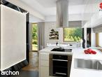 projekt Dom w amarylisach Aranżacja kuchni 2 widok 3