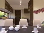 projekt Dom w amarylisach Wizualizacja kuchni 1 widok 2