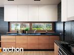 projekt Dom w amarylisach Wizualizacja kuchni 1 widok 1