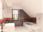 projekt Dom w amarylisach Wizualizacja łazienki (wizualizacja 3 widok 1)