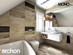 projekt Dom w lucernie Wizualizacja łazienki (wizualizacja 3 widok 3)