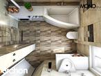projekt Dom w lucernie Wizualizacja łazienki (wizualizacja 3 widok 4)