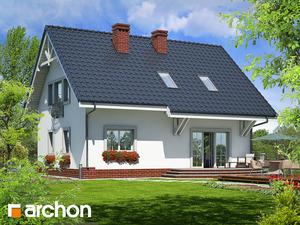 projekt Dom w lucernie widok 2