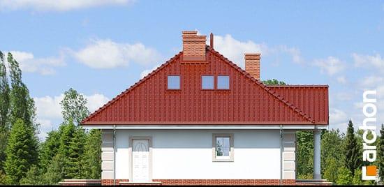 Elewacja boczna projekt dom pod jarzabem 2 ver 2  266