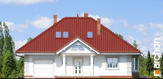 Elewacja frontowa projekt dom pod jarzabem 2 ver 2  264