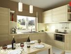 projekt Dom pod jarząbem 2 Aranżacja kuchni 1 widok 2