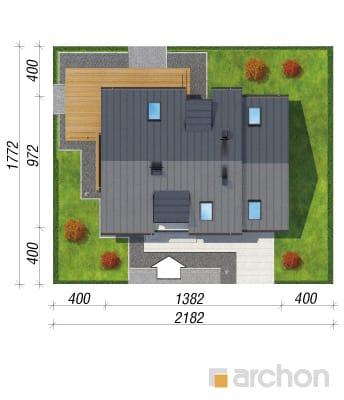 projekt Dom w kardamonie 2 sytuacja