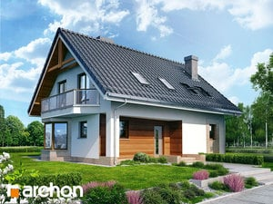 projekt Dom w dziewannie