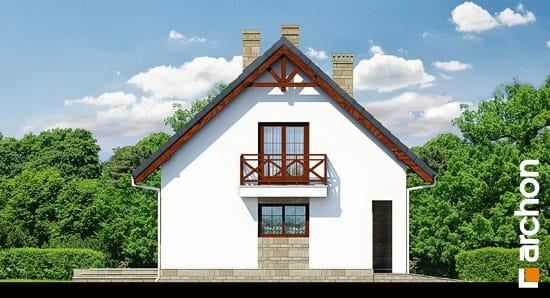Elewacja boczna projekt dom w skalniakach 3 ver 2  266