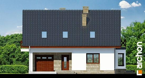 Elewacja frontowa projekt dom w skalniakach 3 ver 2  264