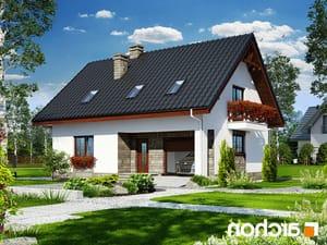 projekt Dom w skalniakach 3 lustrzane odbicie 1