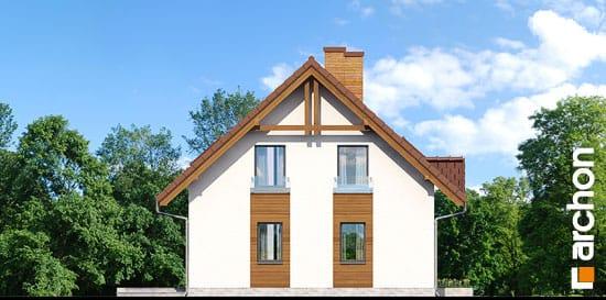 Elewacja boczna projekt dom w poziomkach ver 2  266