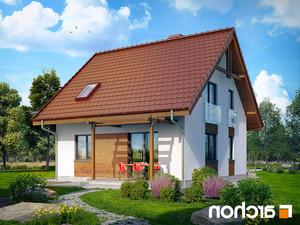 projekt Dom w poziomkach lustrzane odbicie 2