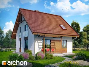 projekt Dom w poziomkach widok 2