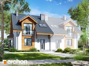 projekt Dom w ostróżkach 5 (B)