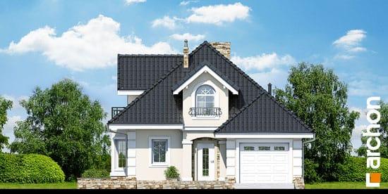 Elewacja frontowa projekt dom w rukoli p ver 2  264