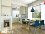 projekt Dom w żurawkach Aranżacja kuchni 1 widok 1