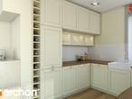 projekt Dom w żurawkach Aranżacja kuchni 1 widok 3