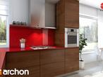 projekt Dom w żurawkach Aranżacja kuchni 2 widok 3