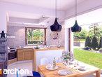 projekt Dom w żurawkach Wizualizacja kuchni 1 widok 1