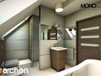 projekt Dom w żurawkach Wizualizacja łazienki (wizualizacja 1 widok 2)