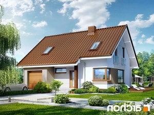 projekt Dom w żurawkach lustrzane odbicie 1