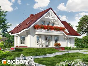 projekt Dom w perłówce 2 widok 2