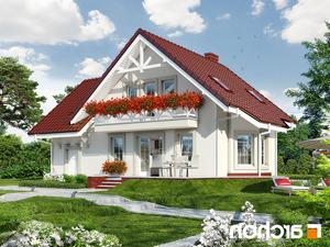 projekt Dom w perłówce 2 lustrzane odbicie 2