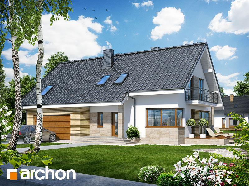 Projekt: Dom w idaredach (G2) ver.2 Wizualizacja widok 1