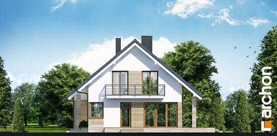 Elewacja boczna projekt dom w idaredach g2 ver 2  265