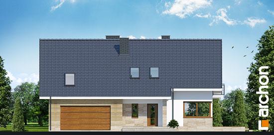 Elewacja frontowa projekt dom w idaredach g2 ver 2  264