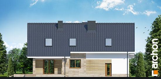 Elewacja ogrodowa projekt dom w idaredach g2 ver 2  267