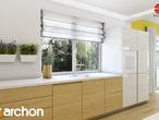 projekt Dom w idaredach (G2) Aranżacja kuchni 2 widok 3