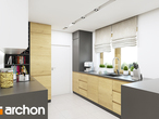 projekt Dom w idaredach (G2) Wizualizacja kuchni 1 widok 1