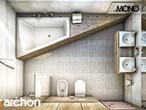 projekt Dom w idaredach (G2) Wizualizacja łazienki (wizualizacja 1 widok 5)