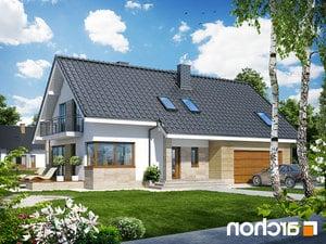 projekt Dom w idaredach (G2) lustrzane odbicie 1