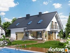 projekt Dom w idaredach (G2) lustrzane odbicie 2