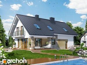 projekt Dom w idaredach (G2) widok 2
