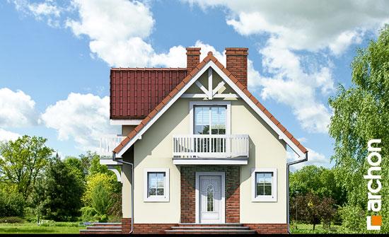 Elewacja frontowa projekt dom w antonowkach ver 2  264