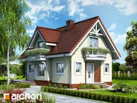 projekt Dom w antonówkach widok 1