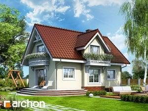 projekt Dom w antonówkach widok 2