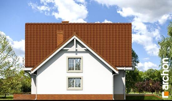 Elewacja boczna projekt dom w rododendronach 5 ver 2  265