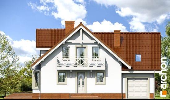 Elewacja frontowa projekt dom w rododendronach 5 ver 2  264