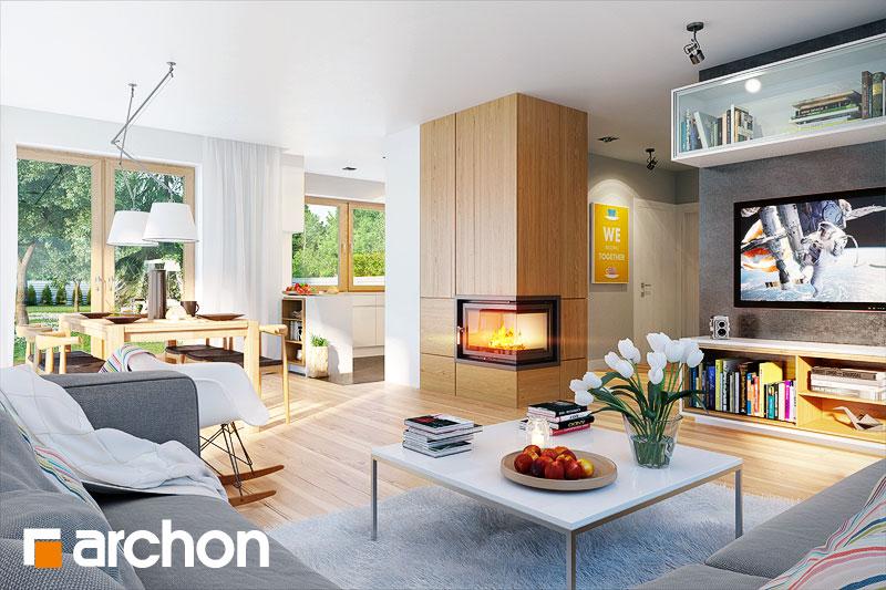 Projekt dom w bugenwillach g2  22721