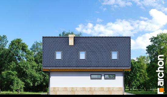Elewacja boczna projekt dom w mango ver 2  266
