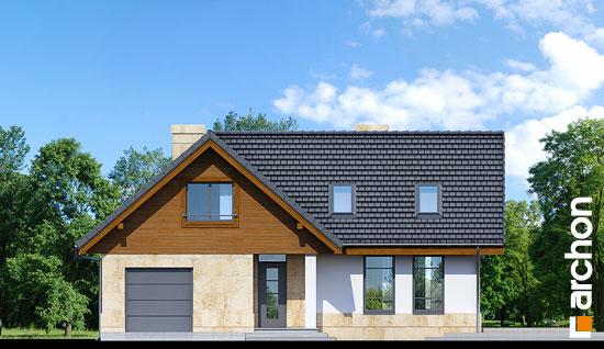 Elewacja frontowa projekt dom w mango ver 2  264