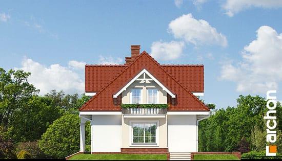 Elewacja boczna projekt dom w werbenach ver 2  265