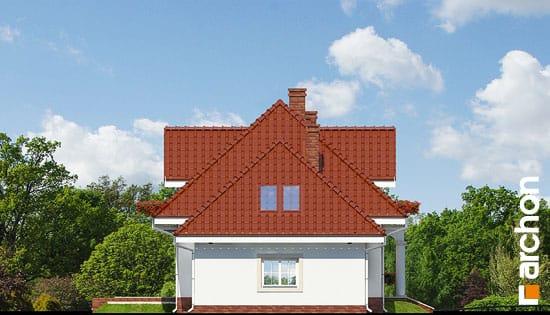 Elewacja boczna projekt dom w werbenach ver 2  266