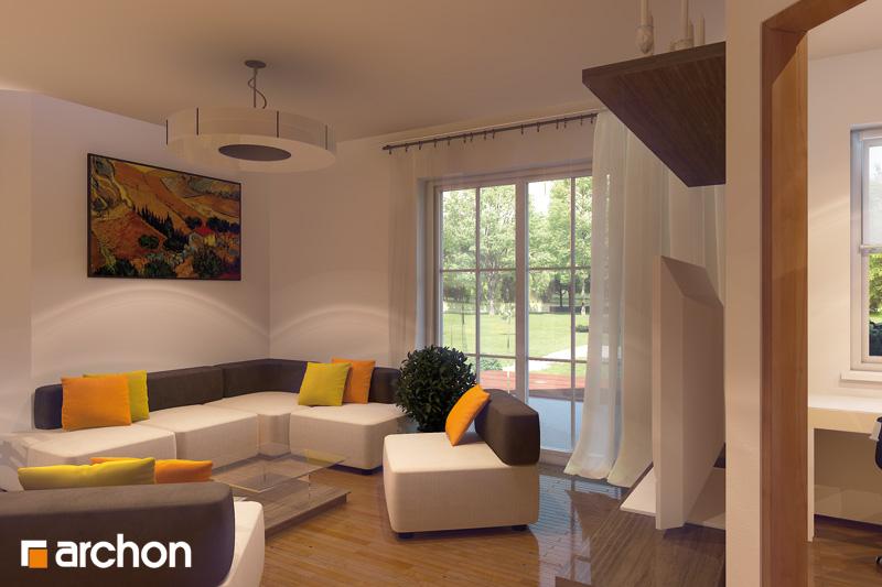 Projekt dom w rododendronach 6 g2 ver 2  23003